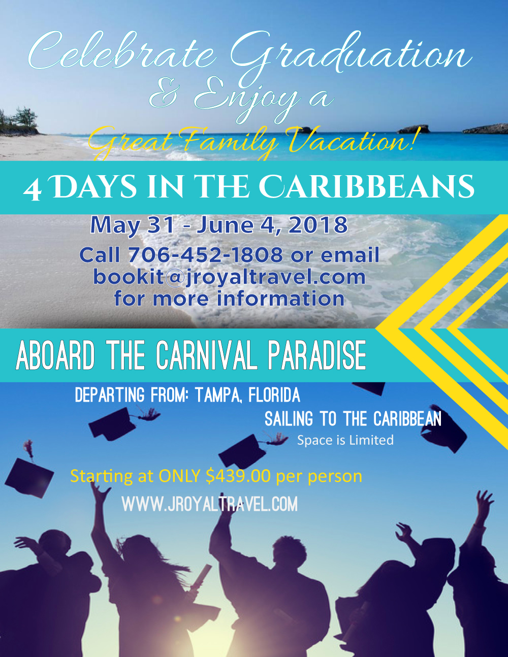 Interested in taking this cruise and not graduating?